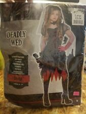 Deadly Wed Child's Costume Large #615