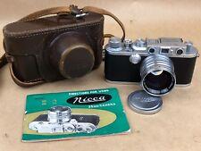 Nicca IIIA Vintage Rangefinder Leica Camera w/ 5cm f/1.4 Nikkor S.C. Very Clean