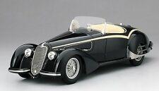 TSM Models 1:18 1938 Alfa Romeo 8C 2900B Loungo Touring Spider, black