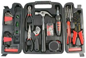 Duratool General Tool Kit & Carry Case, 129 Piece
