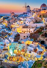 Puzzle Castorland 1000 Teile - Santorini Lights (55926)
