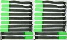 20x Klettband Kabelbinder SO m. Öse 16 cm x 16 mm neon grün Kabelklettband Klett