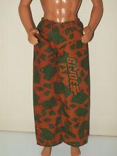 Ken Doll Clothes Camouflage Pants Bottoms G I Joe Green Brown Hasbro K06