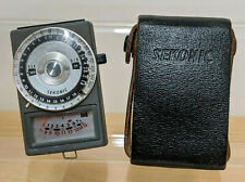 Sekonic Model L-216 Auto Range Made In Japan - VGC With Leather Case 1970's