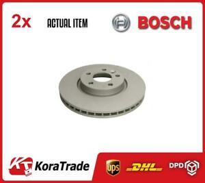 X2 PCS BRAKE DISC SET 0986479261 BOSCH I