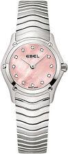 Onda EBEL Clásico Diamante señoras reloj 1216279-Totalmente Nuevo-RRP £ 2150