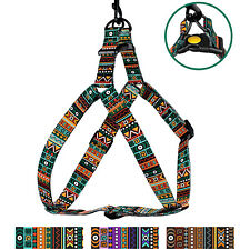 Adjustable Dog Harness Step in Walk Pet Comfort Nylon Harnesses Dogs Puppy S M L