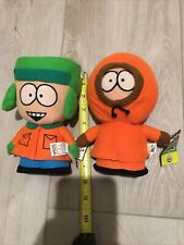 2008 Nanco South Park 7� Plush Lot Of 2 - Kyle & Kenny With Tags. Clean.