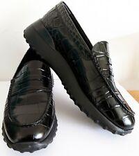 TODS Tod's Schuhe Halbschuhe Gr. 38,5 Loafer Happy Moments Alber Elbaz Schwarz