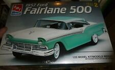 AMT 1957 57 Ford Fairlane 500 1/25 Model Car Mountain FS 3n1