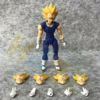 Anime Dragon Ball Z Super Saiyan Vegeta PVC Figure Model 15cm