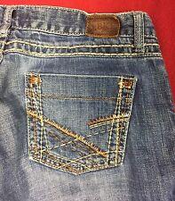 """Buckle BKE  """"Stella Boot"""" Cut Stretch Denim Jeans Size 30x30"""