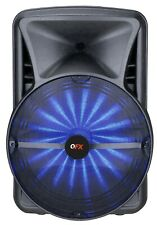"""QFX PBX-BF25 15"""" Rechargeable Party Speaker +APP-Control +Bluetooth +USB/SD/FM"""