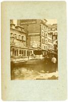 France, Paris, 1871, Rue Montesquieu, l'atelier Dubreuil photographe Vintag