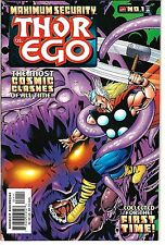 "Maximum Security: Thor vs. Ego (2000) NM  Lee - Kirby Reprints ""Silver AgeThor"""