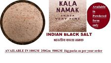 500gm  Indian Black Salt | Kala Namak | Made in India