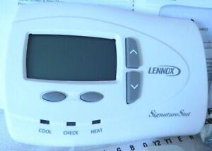 Lennox SignatureStat 81M2601 Deluxe Programmable Thermostat + Humidity Sensor