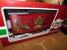 G Scale LGB 43353  Christmas Box Car with Sound   Nice Condition (TBJ# 521)