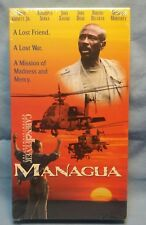 FACTORY SEALED! MANAGUA VHS SCREENER Louis Gossett Jr., Michael Moriarty