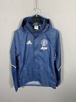 ADIDAS MANCHESTER UNITED Windbreaker Jacket - Small - Great Condition - Men's