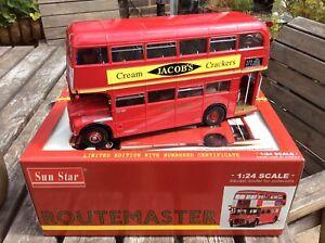 2902 Sunstar Routemaster 1/24 Scale London Transport