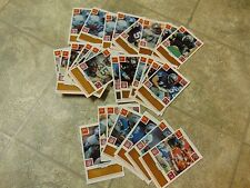 BASEBALL STYLE CARD SET OF 29 MCDONALDS NFL FOOTBALL SCRATCH AND WIN FROM 1986