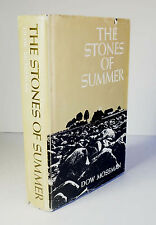 The Stones of Summer 1972 1st Edition Dow Mossman SIGNED HCDJ