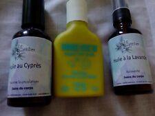 Gommage Patyka bio +huile au cyprès circulation +Soin relaxant à la lavande Bio