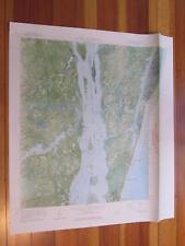 Carolina Beach North Carolina 1973 Original Vintage USGS Topo Map