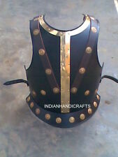 ANTIQUE BREAST PLATE MEDIEVAL ARMOUR REPLICA COSTUME ARMOUR JACKET BLACK FINISH