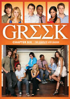 Greek: Chapter 6: The Complete Fourth Season (Season 4) (3 Disc) DVD NEW