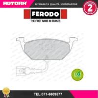 FDB1398 Kit pastiglie freno a disco ant Audi-Seat-Skoda-Vw (MARCA-FERODO)