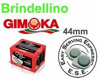 100 Cialde CAFFE carta ESE 44mm GIMOKA GRAN BAR ROSSA BIALETTI TRIO FROG DIDIESS