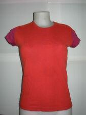 Tee-SHIRT  femme, T-shirt women SALOMON, Rouge en S = 36/38  (réf =A2752)