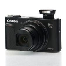 Canon PowerShot SX740 HS 20.3MP 4K Digital Camera Black