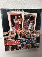 1991-92 NBA Hoops Series 1[ Factory Sealed Rack Box, Jordan Bird Barkley