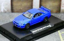 Tamiya 1/64 Collector's Club Nissan Skyline GT-R V-Spec R34 BNR34 Blue