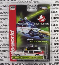 Auto World Silver Screen Ghostbusters 1959 Cadillac Eldorado ECTO-1A HO Slot Car