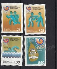 SRI LANKA MNH STAMP SET 1988 OLYMPIC GAMES SEOUL SG 1033-1036