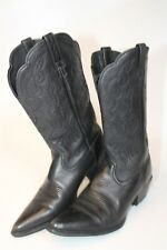 Ariat Womens Size 9 B 40 M Leather Pull On Pointed Toe Heeled Cowboy Boots 15771