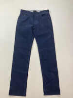 HUGO BOSS MAINE CORD Jeans - W32 L34 - Navy - Great Condition - Men's