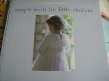 Simple Knits For Little Cherubs Knitting Book Erika Knight, Tons Of Patterns