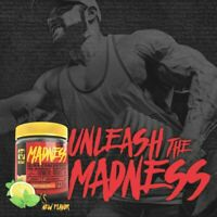 Mutant Madness Pre-Workout Energy Stamina Focus Pump 30 Servings PICK FLAVOR