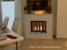 Bio Gelkamin Ethanolkamin Kamin Fireplace CHEMINEE Dion XXL Premium Royal WEISS
