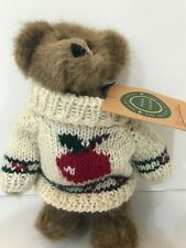 Boyd's MacMillan Apple Teddy Bear Archive Investment Collectibles 1995 7� Tall