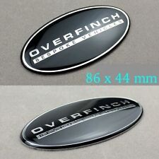 OVERFINCH Front Grill And Rear Boot Badge Set For Land/Range Rover,Uk Seller.