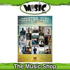 New Country Hits for Ukulele Music Book - Uke Songbook