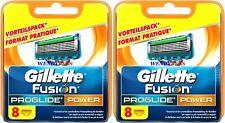 Gillette Fusion Proglide Power Ersatzklingen - 8 Stück
