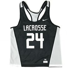 New Nike Reversible Mesh Tank Pennie Training Top Lacrosse Women's M Black White