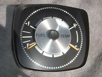 AMC AMX Javelin dash fuel temp gauges SST Pierre Cardin Trans Am